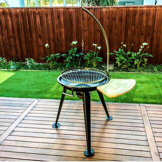 WillBBQ Free-standing Hanging Charcoal BBQ,Special Offer 15% Off