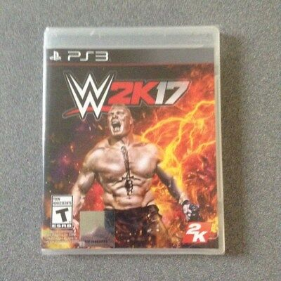 Usado, PS3 WWE 2K17 (2K, Sony PlayStation 3, 2017) NEW & Sealed segunda mano  Embacar hacia Argentina
