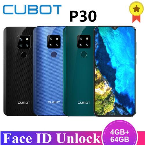 Cubot P30 4G Smartphone 4GB RAM 64GB ROM Handy Android 9.0 Dual SIM Face ID WIFI