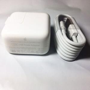 OEM Genuine Original Apple iPad2 3 4 iPad air 12W USB Power Adapter Wall Charger