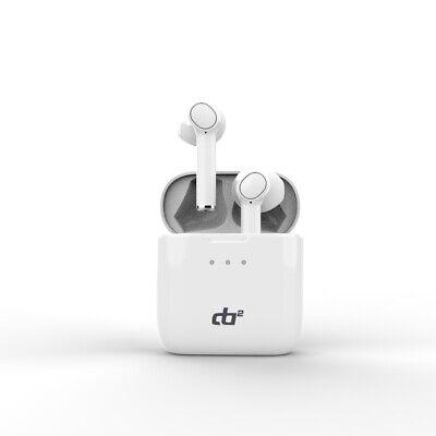 DA2 Decibel Atmosphere Wireless Bluetooth Waterproof Ear Buds (White)