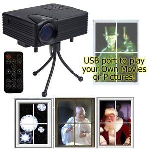 Mr Christmas Projector.Mr Christmas Indoor Virtual Holiday Projector Animated Window Screen Decor E65