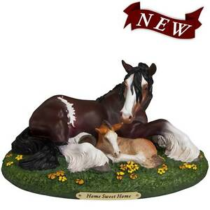 Trail of Painted Ponies Home Sweet Home Clydesdale Mare Foal NEW Port Macquarie Port Macquarie City Preview