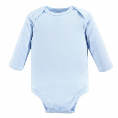 Luvable Friends Boy Long-Sleeve Bodysuits, 1-Pack, Blue
