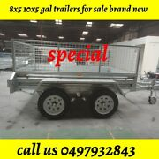 Trailer for sale: 8x5 Galvanised Box Trailer 600 with Cage Springvale Greater Dandenong Preview