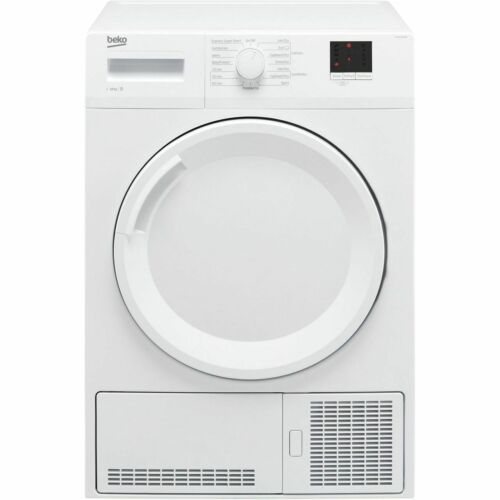 Beko DTGC10000W B Rated 10Kg Condenser Tumble Dryer White