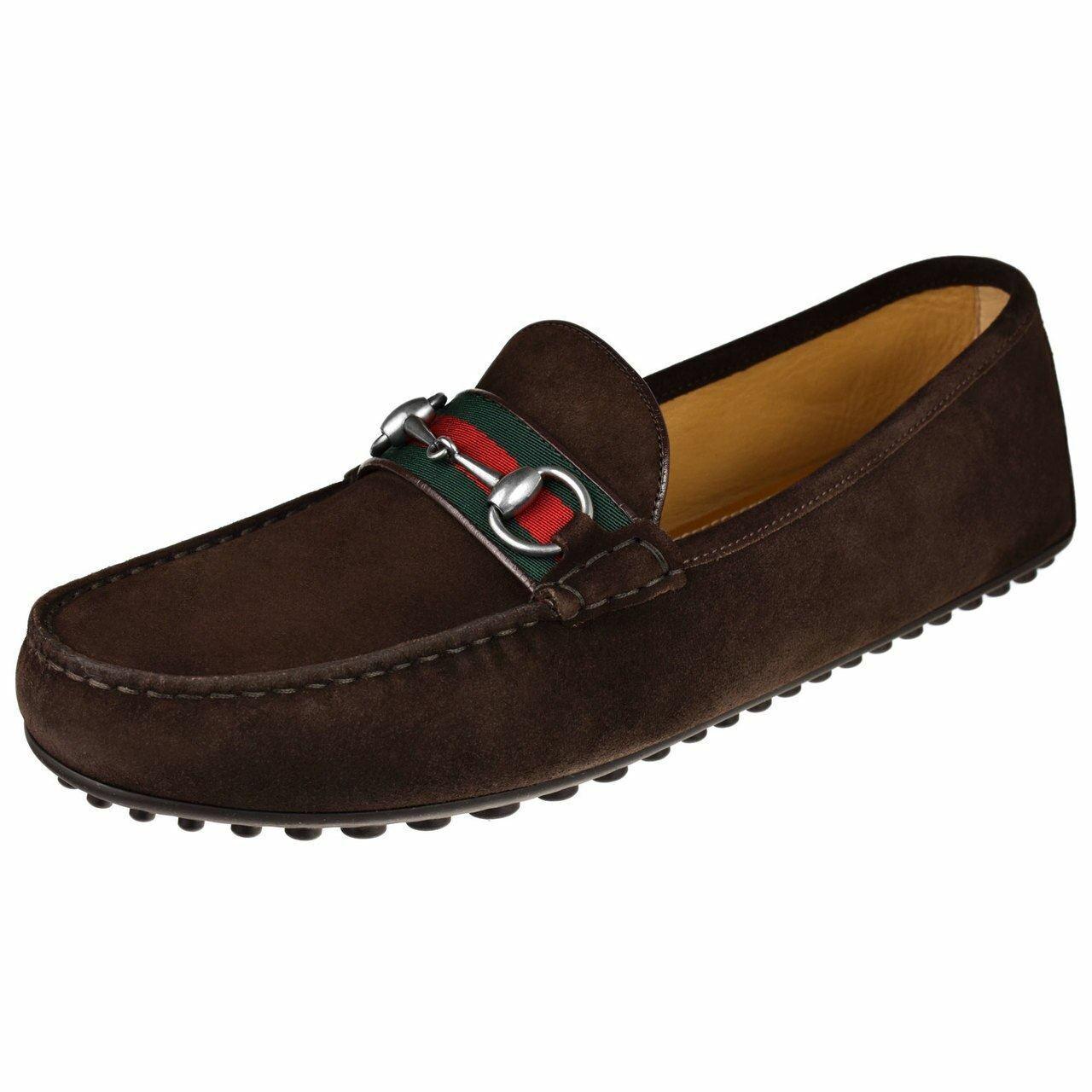 Gucci Mens Shoes Kanye Ribbon Bit Driver 450892-Cma40-2152