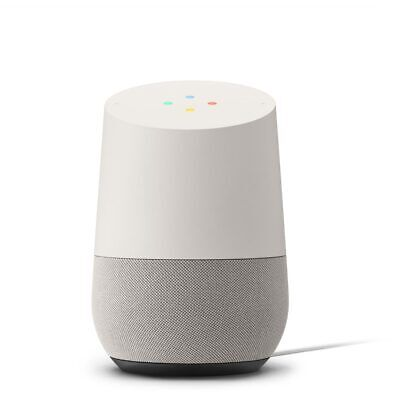 Google Home Smart Speaker With Google Assistant White