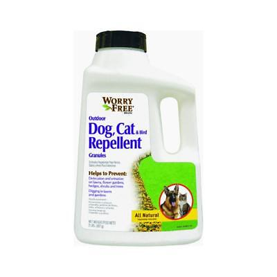 Worry Free Repellent Granules Shaker Top for Dog/Cat/Bird, 32-Ounce