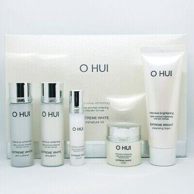 O HUI Extreme White 5pcs Gift Set Anti Aging Whitening Hydrating K-Beauty
