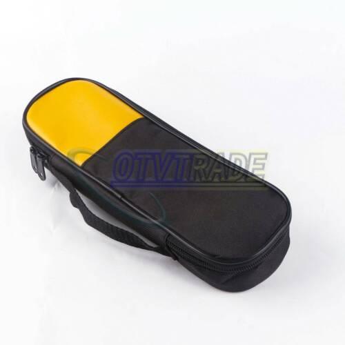 1pc Carry Soft Case/Bag for FLUKE hioki sanwa Uni-T Kyoritsu Mastech Clamp Meter
