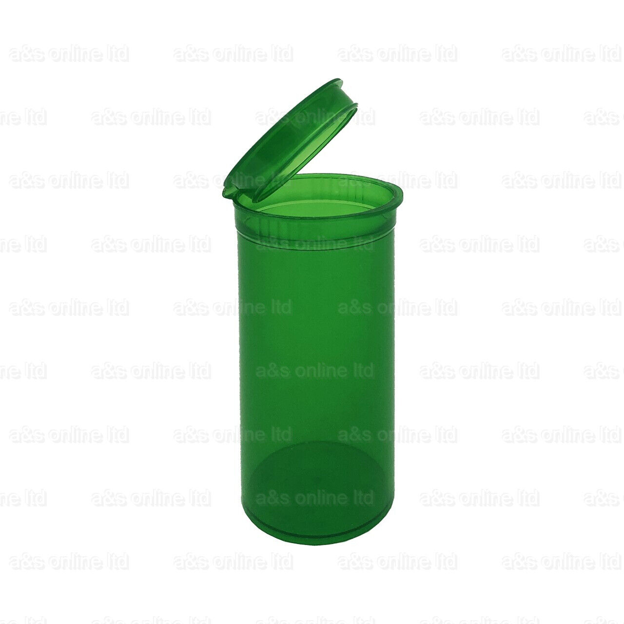 225 19 Dram 80ml Pop Top Squeeze Pot Container Pill Tub New CHEAP GREEN