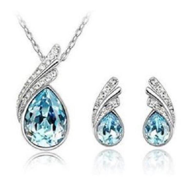 Swarovski necklace set ebay for Swarovski jewelry online store