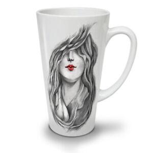 Red Lips Stylish NEW White Tea Coffee Latte Mug 12 17 oz | Wellcoda