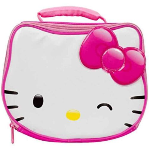Hello Kitty Insulated Lunch Bag with Sequin Bow (Licensed by Sanrio)