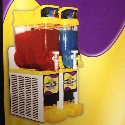Faby Cab 2-Bowl Frozen Slush Granita/Slushie/Margarita Machine