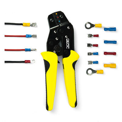 Crimping Pliers Cold Terminal Clamp Pliers  Insulated Wire Terminal Connector