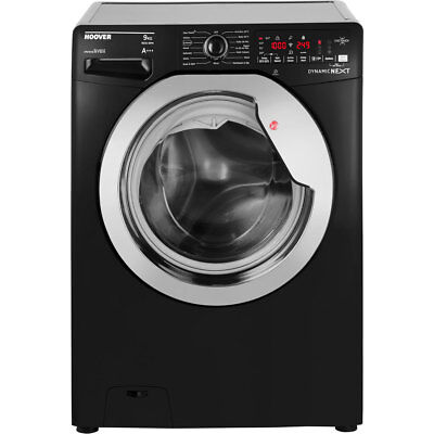 Hoover DXOA69HC3B Dynamic Next A+++ Rated 9Kg 1600 RPM Washing Machine Black /