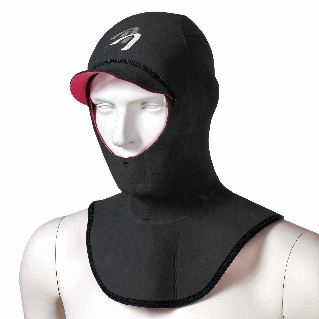ASCAN Neopren-Haube Hood Comfort - idealer Kälteschutz für Kopf beim Surfen