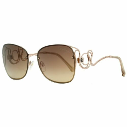 Roberto Cavalli RC1027 28G Carrara Gold Mirror Lenses Sunglasses 58-17-135 Italy