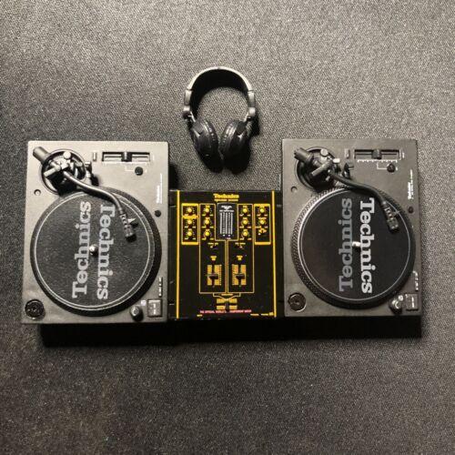 Technics Miniature Collection SL-1200MK7  Turntable Audio Mixer Hip-Hop DJ set
