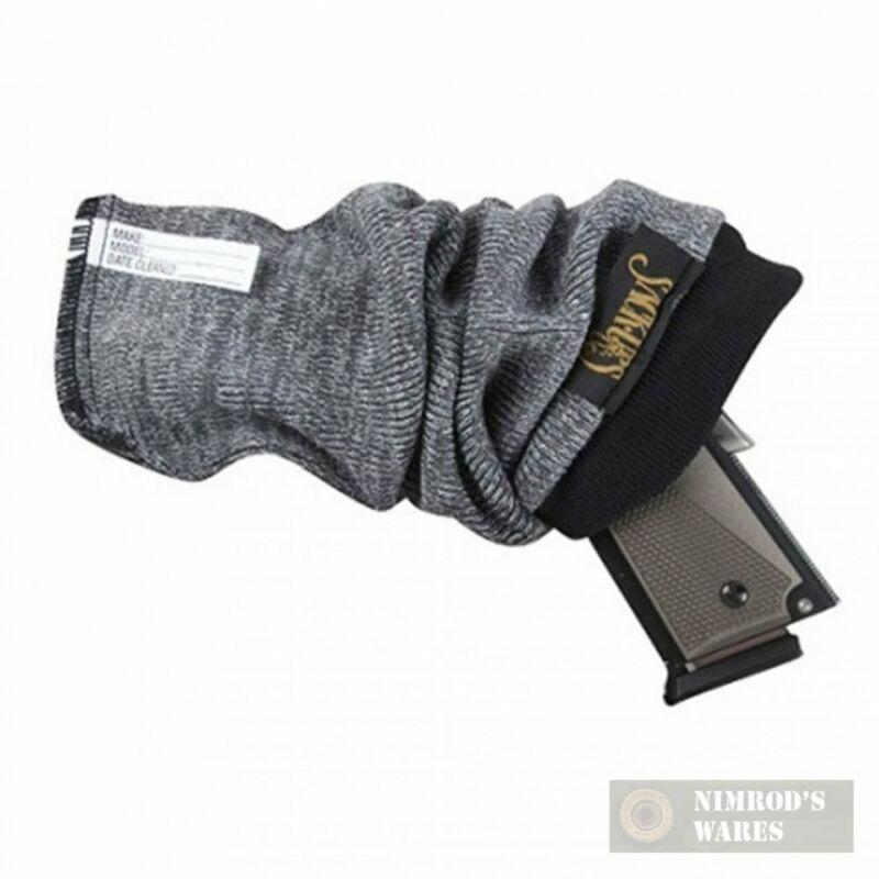 """SACK-UPS 5-Pack 13.5"""" Pistol Handgun PROTECTION Socks Gray 207 FAST SHIP"""