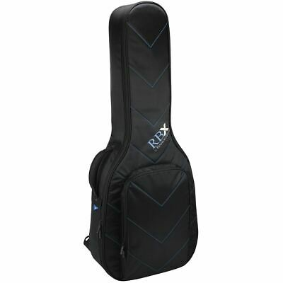 New Reunion Blues RBX-A2 Dreadnought Acoustic Guitar Hybrid Gig Bag/Case, Black Hybrid Acoustic Guitar Bag