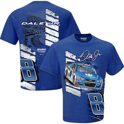 2016 Dale Earnhardt Jr  88 Nationwide Drive Blue Short Sleeve Nascar Tee Shirt