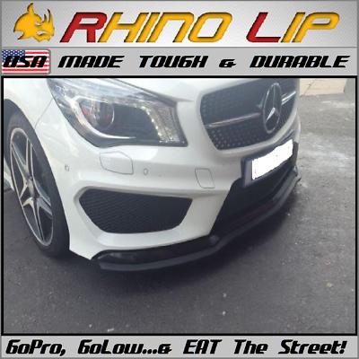 Maybach S600 S500 S600-Pullman 57 62 RhinoLip® Rubber Spoiler Splitter Chin Lip