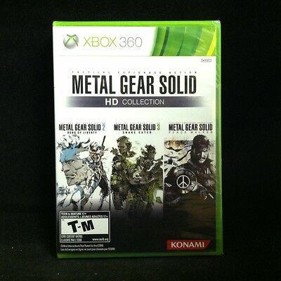 Metal Gear Solid HD Collection (Microsoft Xbox 360, 2011) BRAND NEW, usado comprar usado  Enviando para Brazil