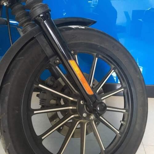 Front Fork Leg Reflectors Lower Leg For Harley Davidson