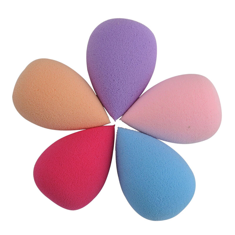 5X Make up Schminkschwamm Foundation Beautyblender Puff Schwamm Blender Kosmetik