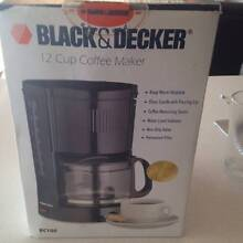 BLACK AND DECKER COFFEE MAKER Bell Park Geelong City Preview
