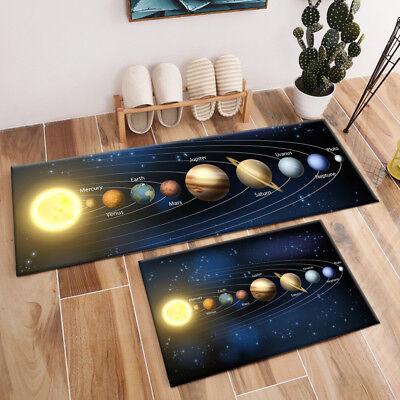 Area Rug Universe Solar System Floor Mat Living Room Bedroom Carpet Home Decor - Solar System Rug