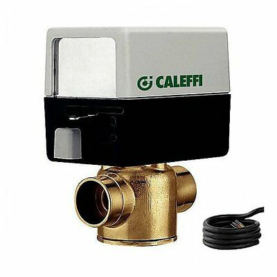 Caleffi Z45 34-inch Zone Valve Z45 2-way Valve And Actuator Set