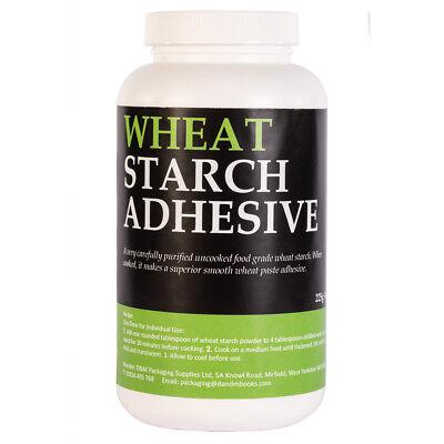 Pure Wheat Starch Neutral pH Bookbinding Book Repairs Paper Arts 225g (8 oz)