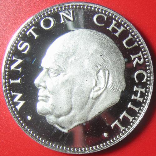 1974 PARAGUAY 150 GUARANIES SILVER PROOF SIR WINSTON CHURCHILL RARE COIN! KM#116