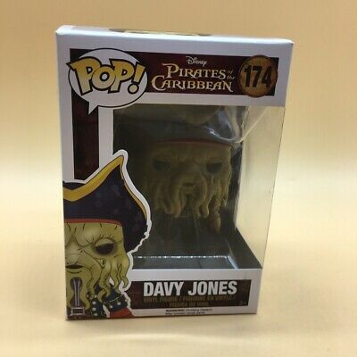 Funko POP!: Disney: Piratas del Caribe: Davy Jones