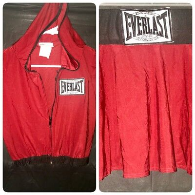 NEW Sexy Boxing Everlast Ring Card Sporty Adult Costume ~MEDIUM 8/10 SEE - Boxing Costume