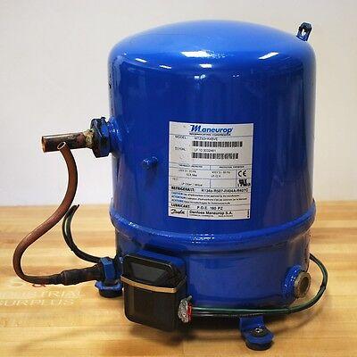 Maneurop Mtz50hk4bve Hermetic Reciprocating Compressor 5.5hp 460v 3ph - Used