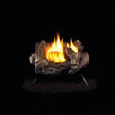 Procom Ventless Propane Gas Log Set   18In   32 000 Btu  Model Wzl18hla