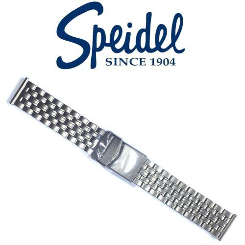 SPEIDEL 20mm TITANIUM WATCH BAND LINK BRACELET SANDBLASTED MATTE CARBIDE FINISH