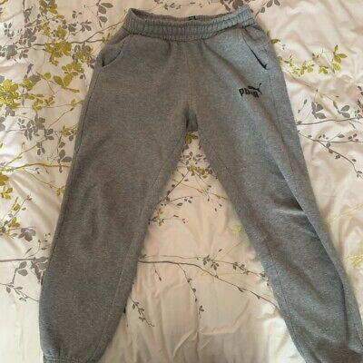 Grey puma joggers