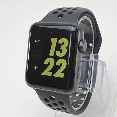 Series 3 Apple Watch Nike 42mm Aluminium Black Sport (GPS) #2950