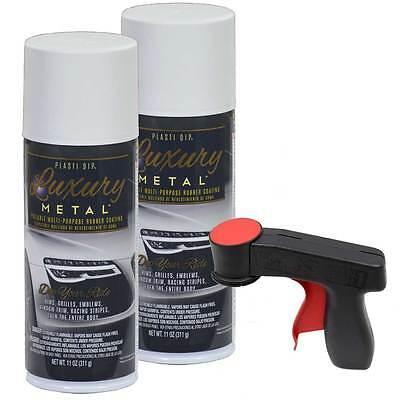 Plasti Dip Luxury Metal Spray Glacier White Metallic 2 Cans Cangun1 Trigger