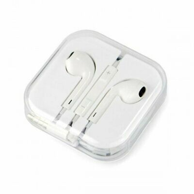 Earphones (3.5mm) with remote/mic for Apple iPhone 5 to 6s, iPad, Mac and iPod