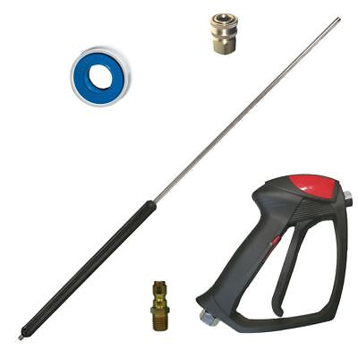 Mecline Easy Pull Pressure Washer Spray Gun And 36 Lance 4000 Psi Heavy Duty