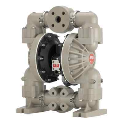 Aro 6661u3-344-c Diaphragm Pump Non-metallic Double 1-12 Air 100 Gpm Pneumatic
