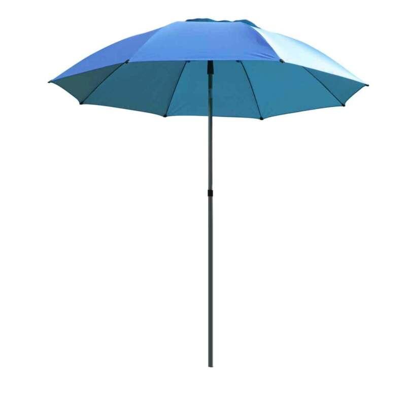 Black Stallion UB200 Core Flame-Resistant Industrial Umbrella Blue