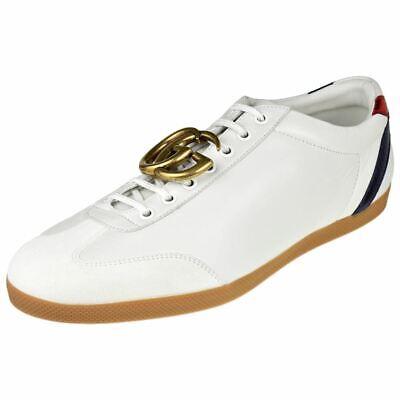 9ad10bcaa Gucci Mens Shoes Bambi Gg Ornament Sneaker 437487-Cfyd0-9070